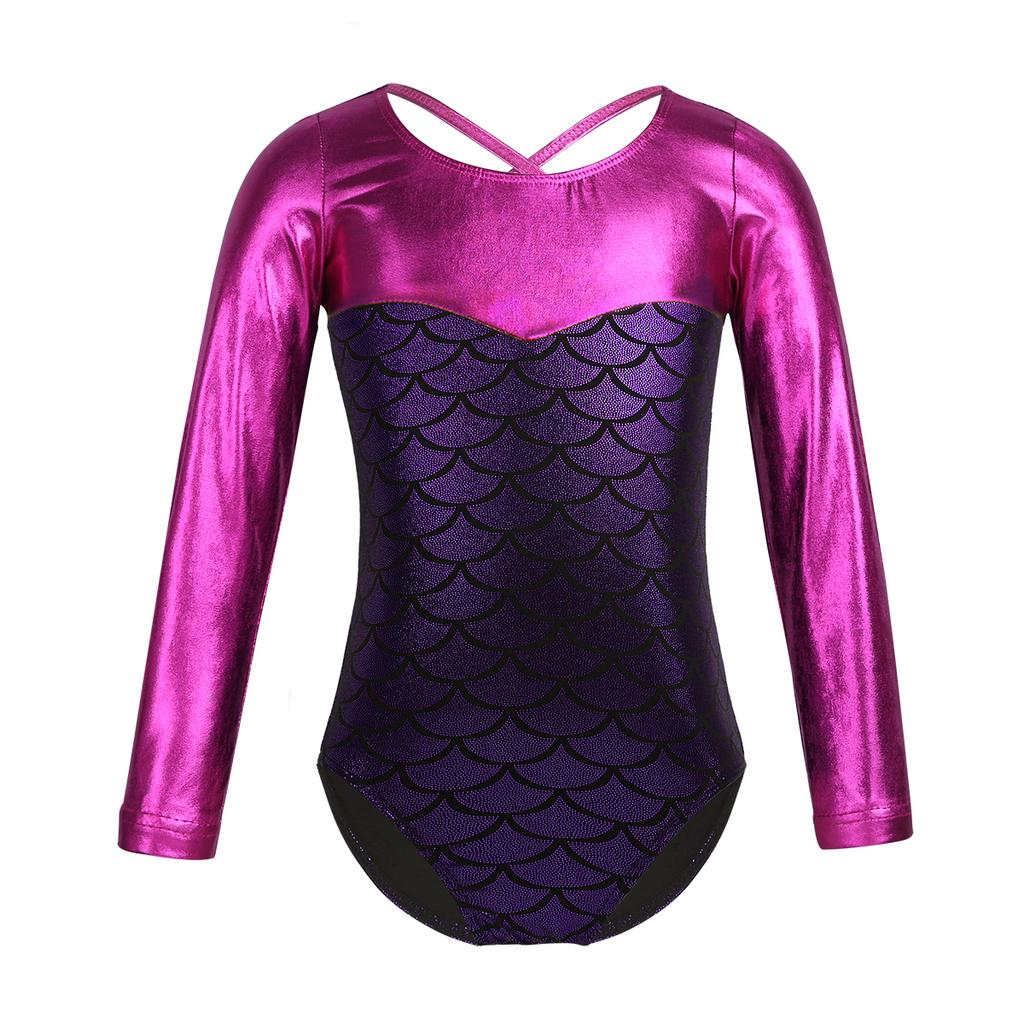 Kid Girl Ballet Dance Lace Leotard Gymnastics Jumpsuit Unitard Dancewear Costume
