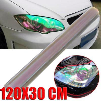 Tint Discoloration Fog Lights Car Headlight Film Stickers Tail Lamp