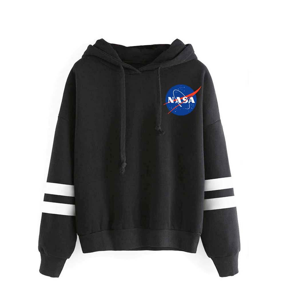 NASA Hoodie Pullover  Sweaters Hoodies Men/&Women Tops Sweatshirts Outwear Coat