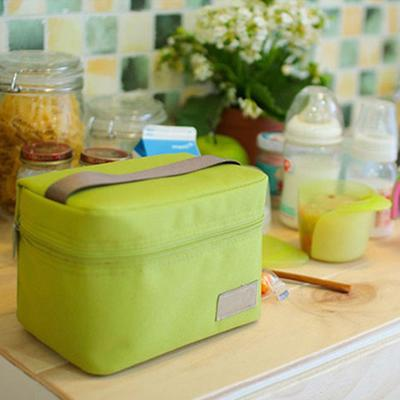 Insulated Cooler Large Cpacity Oxford Tinfoil Thermal School Picnic Handle Lunch Bag