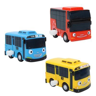 Tayo,Rogi,Gani Toy Car Korea TV animation 3pcs X Little Bus TAYO Wind UP Bus