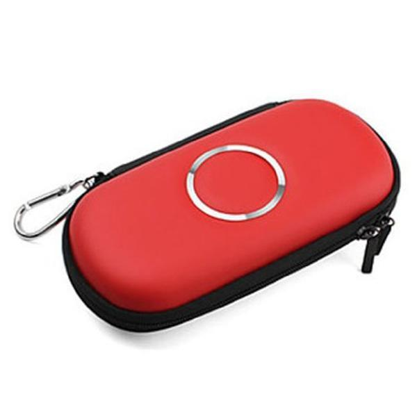 PSP hard case bag pouch cover protective shell car case travel bag for sony 3000 red for PSP 2000