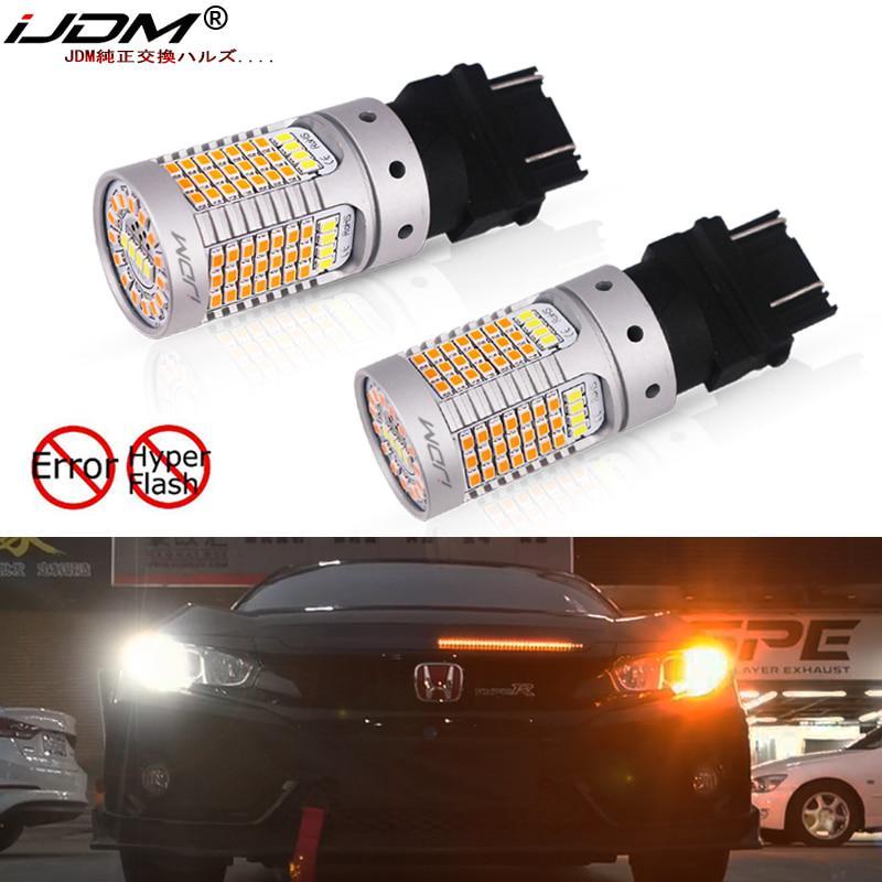 2x 12V 1156 BA15S 21W 33LED Car Vehicle Turn Lamp Reverse Tail Light Bulb White