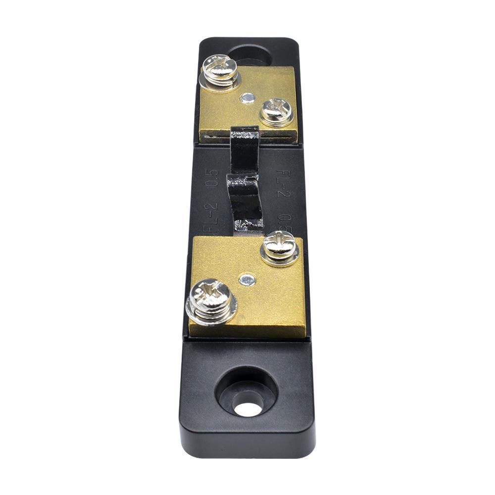 20A DC 75mV Current Shunt Resistor for Amp Ammeter Analog Panel Meter Parts