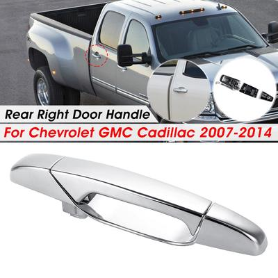for Acura Outside Exterior Outer Door Handle Driver Side Rear Left Chrome ABS
