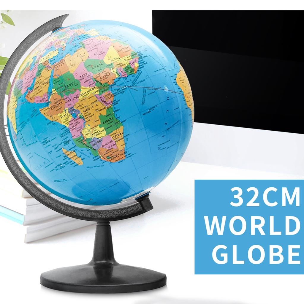 NEW SMALL WORLD MAP SERVING DISH TRAYS TEA SERVE FOOD GIFT BREAKFAST EARTH GLOBE