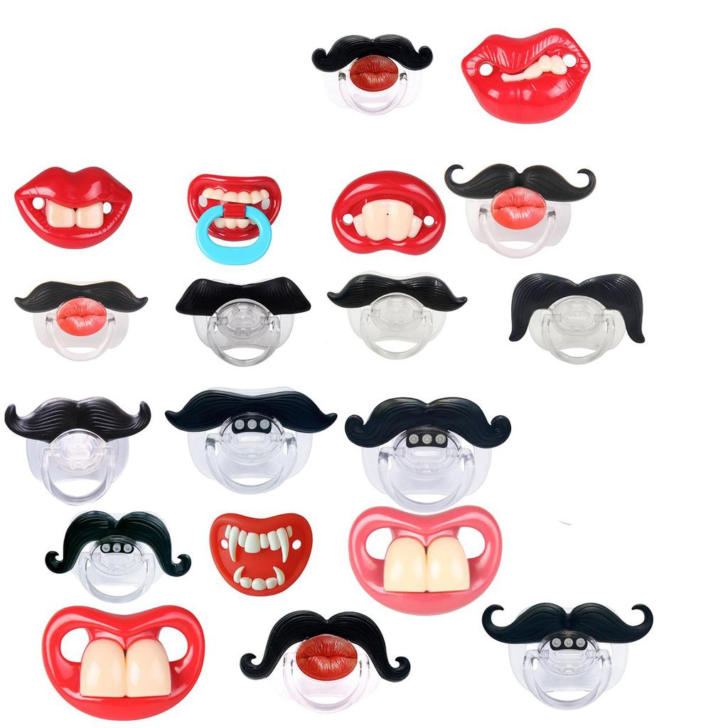 Funny Baby Pacifiers Duck Mouth Toddler Infant Soother Nipples Supplies D