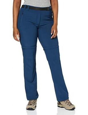 Femme CMP Zip Off Dry Function Trousers Pantalon 3T51446