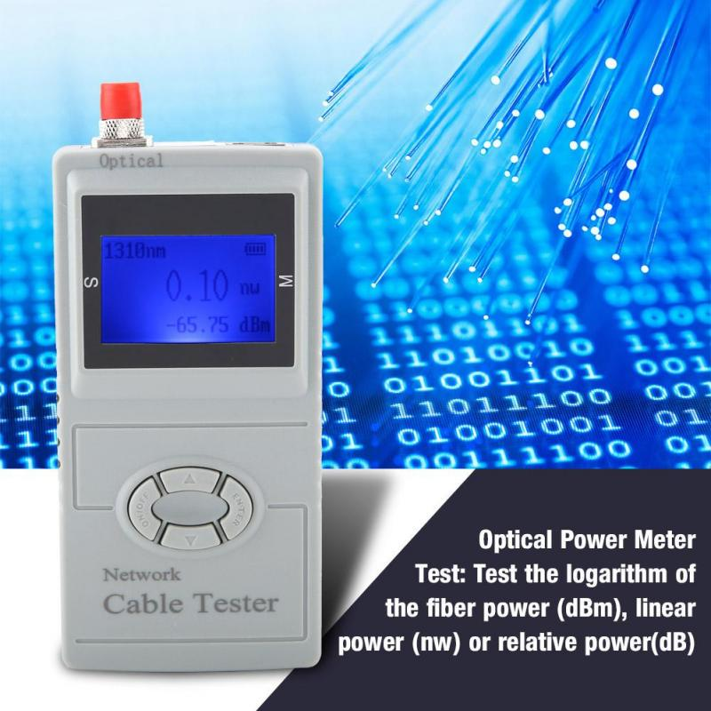 SML-M2 Multi-function LCD Tester Power Meter Coaxial Cable Scanning Optical  Power
