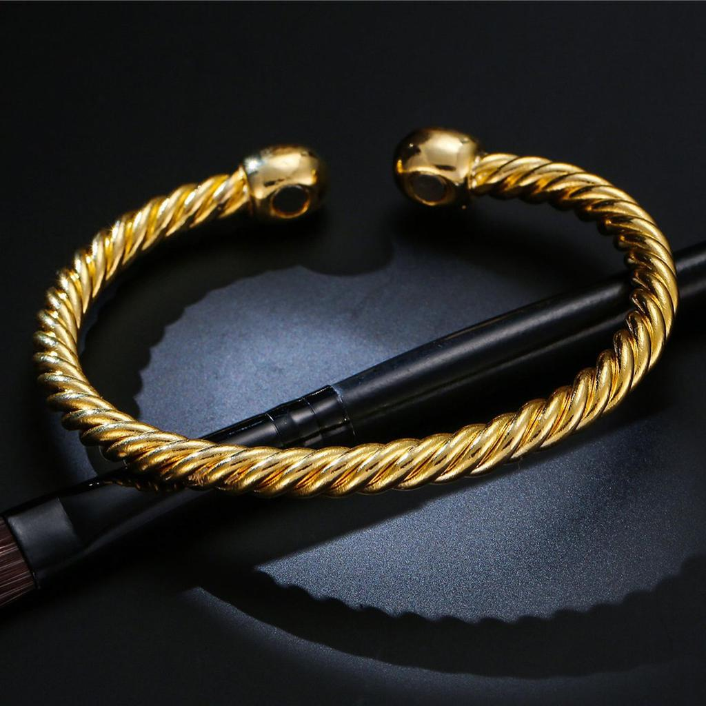 Luxury Men Women Magnetic Therapy Bracelet Health Care Interweave Bracelet UR