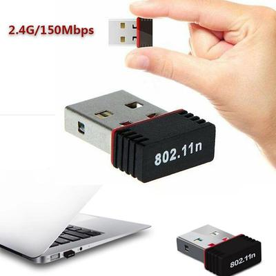 HEASEN 150Mbps 802.11n//g//b USB Network LAN Dongle WiFi Wireless Adapter 5dBi Antenna