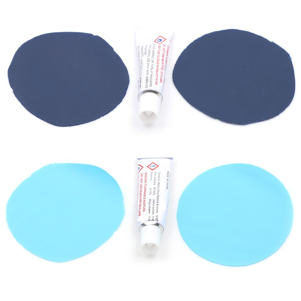 Repair Kit Patches Glue Patches X2 For Air Mattress PVC Inflating Air Bed Boat