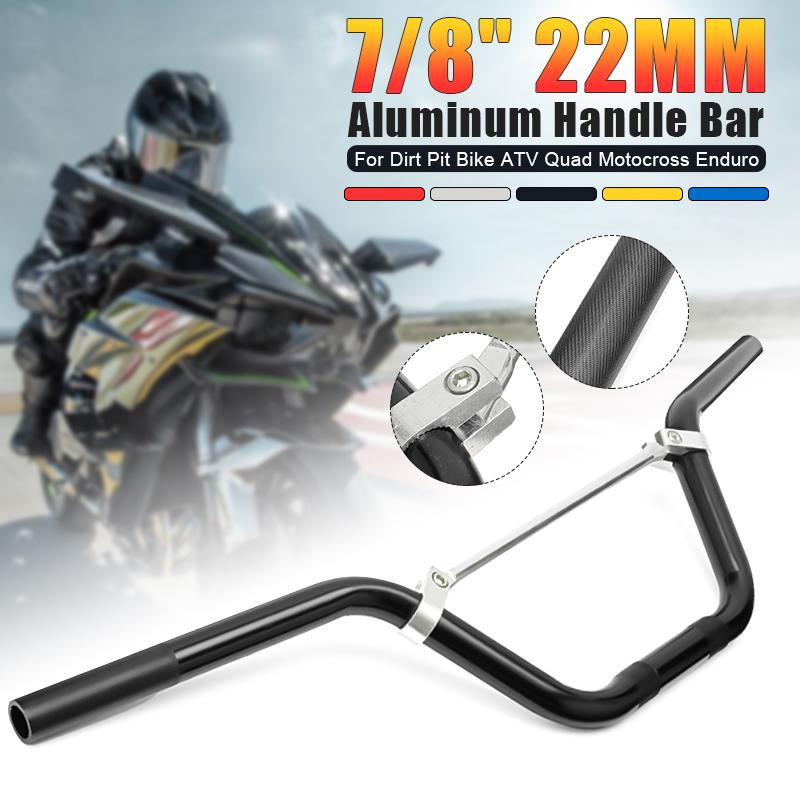 """Motorcycle Handlebar Grips CNC 7//8/"""" Throttle Tube for ATV MX Dirt Bike Off Road"""