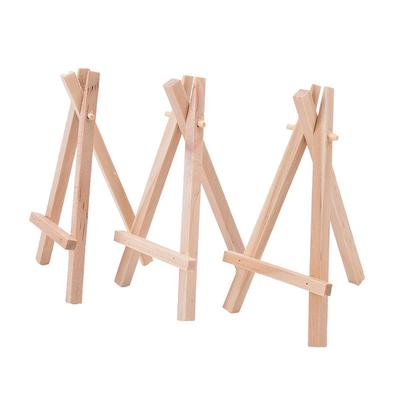 Wooden Art Adjustable Tabletop Easel Drawing Board Painting Wood Stand Holder