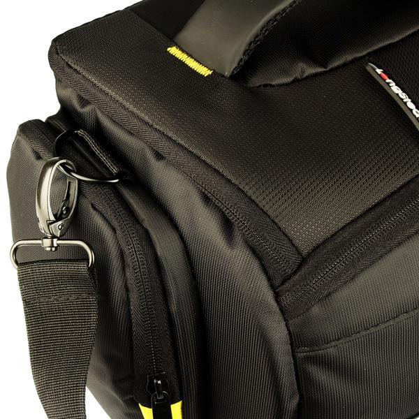 Spalla Slim Borsa per fotocamera per Nikon Coolpix L340 L840 P610