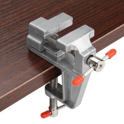 Petite miniature facile prendre Bench Vice Pince sur table Étau en ALUMINIUM réparation outil