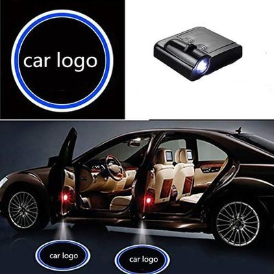 for JP 2Pcs LED Car Door Logo Universal Wireless Car Door Light Courtesy Door Light Door Welcome Courtesy Puddle Light Fit for All Cars,Trucks,SUVs,Trailers,RVs etc
