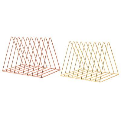 Creative Triangle Iron Shelves Desktop Storage Shelf Simple