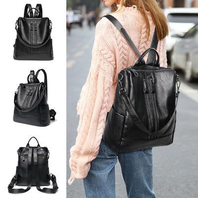 6498b4e66a85 1шт спортивный досуг сумка сумки категории Многофункциональные Пу сумка  рюкзак школа моды путешествия