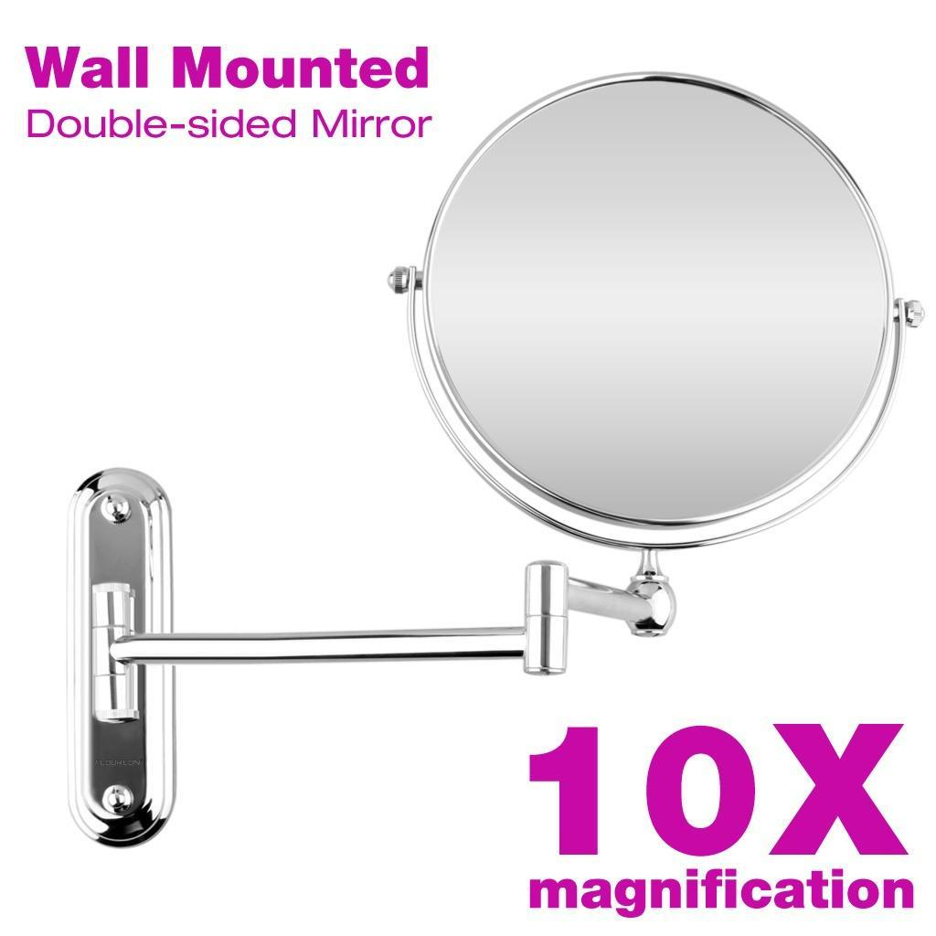 Floureon 8inch 10x Magnification Wall