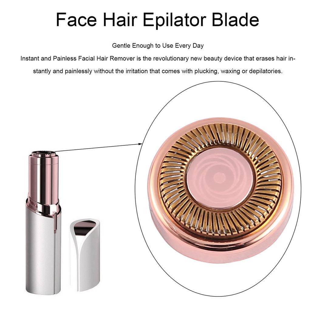 Mujeres cara eléctrica pelo depiladora cuchilla para afeitar depiladora lápiz  labial afeitar herramienta - comprar a precios bajos en la tienda en línea  ... dd2090465de9