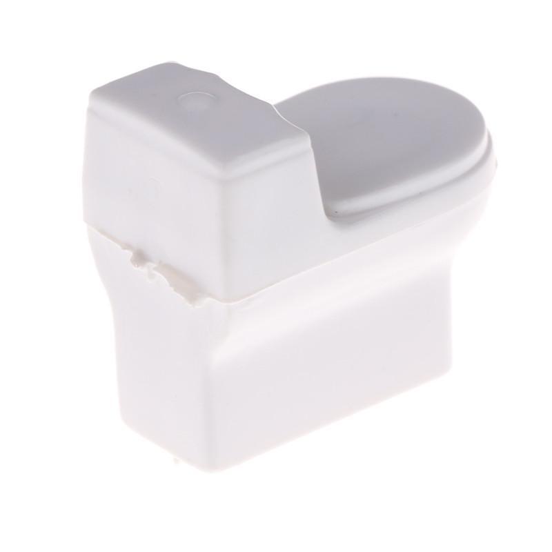 Dollhouse Miniature Bathroom Toilet Model DIY Sand Table Landscape Scene Toys Du