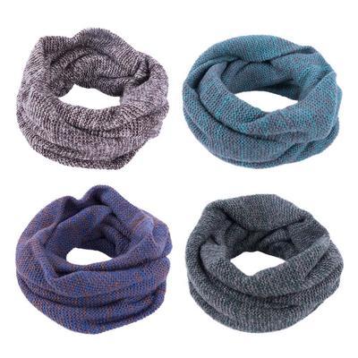 Doble círculo de la bufanda para espesamiento de hilado de lana caliente  mantener todos coinciden con f09e13106a4