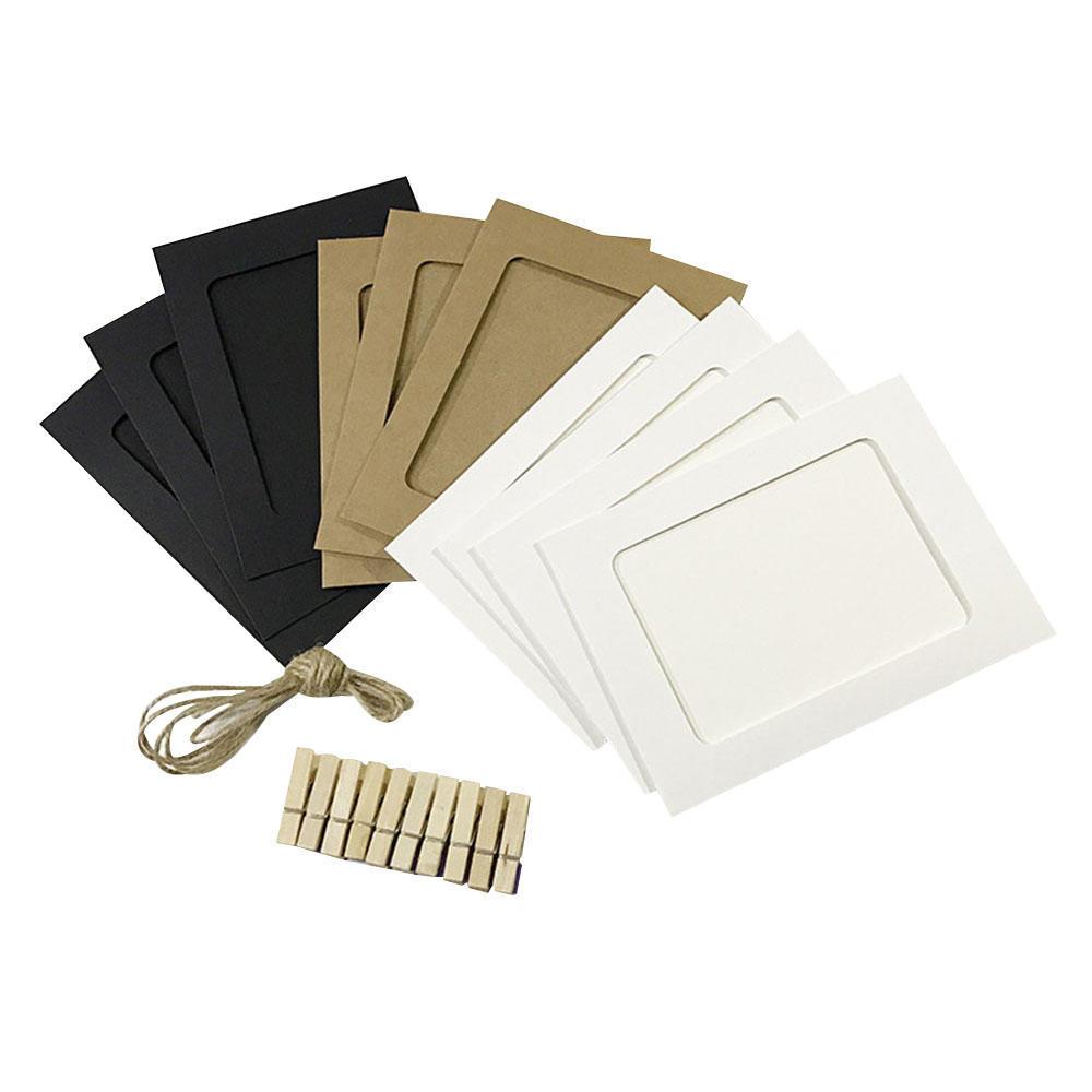 Hängende Papier Rahmen Kombination Fotowand – günstig im Onlineshop ...