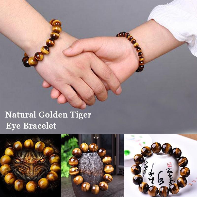 Gold Tiger Eye Bracelet