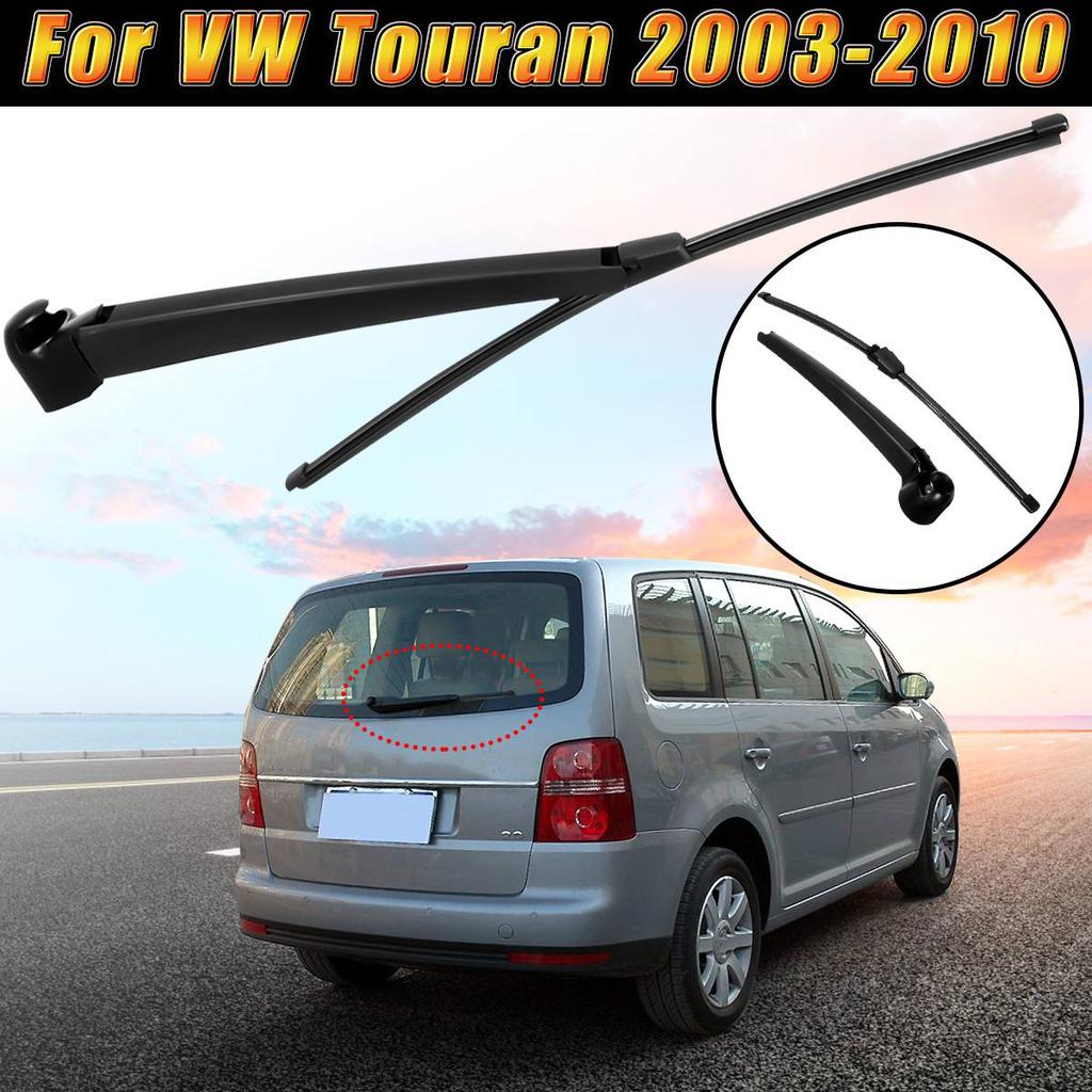 GXDD 16 41cm Car Rear Window Windscreen Wiper Rain Arm And Blade Set Fit For VW Touran 2003 2004 2005 2006 2007 2008 2009 2010