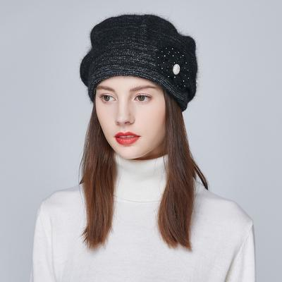6efc8f70b6c Cotton Women Knitted Hats Female Warm Winter Casual Caps Adult Fashion Lady  Beanies Hat TH1837