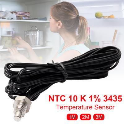 NTC Thermistor Temperature Sensor 10K 1/% B = 3435 Water Proof Sensor 1.5m ZS