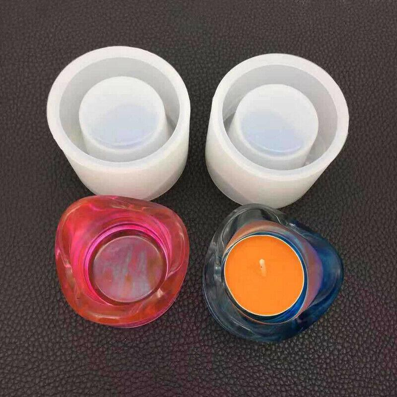 Silicone Candle Light Making Mold Wax Resin Casting Epoxy DIY Craft Mould Tool