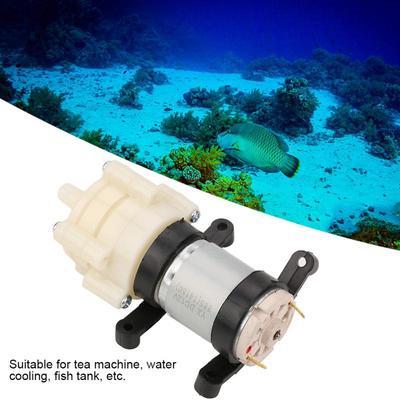 Dc12v MINI Pompe D/'aquarium Moteur Diaphragme Eau Pompe à Air
