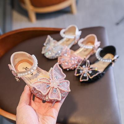 Summer Girls Sandals Princess Shoes Students Cute Dance Shoes