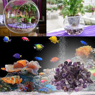 100g Radiant Opal Crystal Particles Quartz Stones Chips Healing Fish Tank Decor
