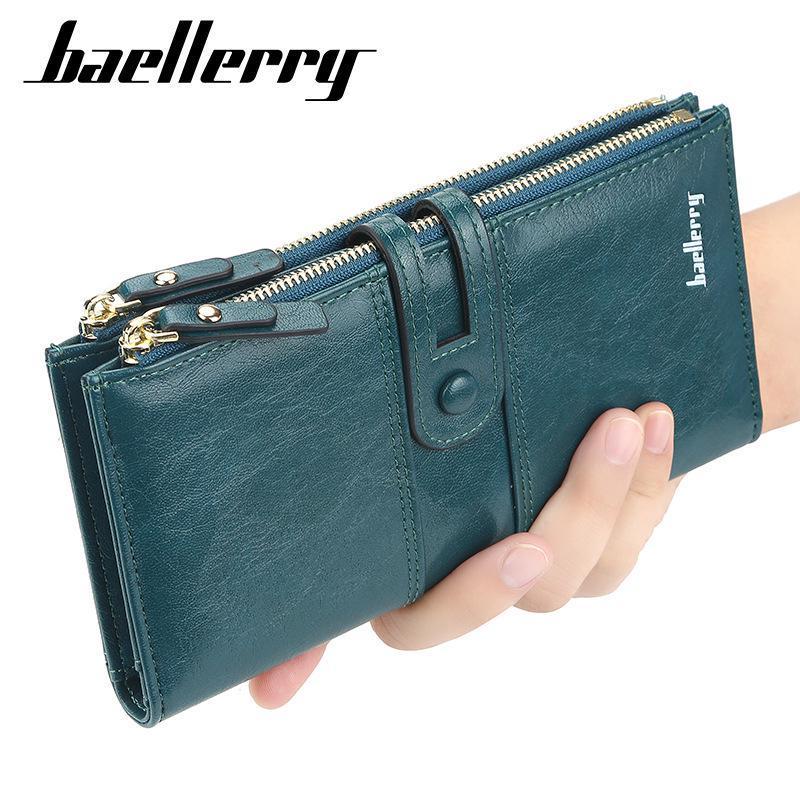 Baellerry женщин кошелек, мода Кожа Длинный Clutch Кошелек Мобильный телефон / держатель карты