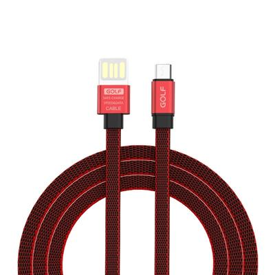 1.2m 3A Weave Style Metal Head USB-C//Type-C to USB 2.0 Data Sync Charging Cable Red Color : Red Durable