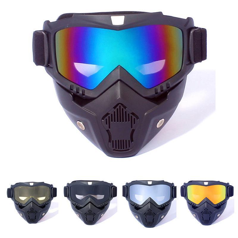 Ветрозащитная, антитуманная маска с УФ защитой – купить по низким ценам в интернет-магазине Joom