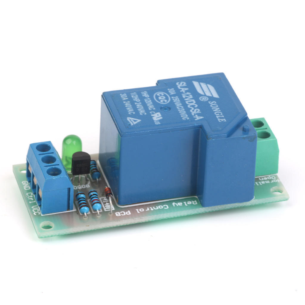 5-12v 30a High Power Input Relay Module Optocoupler Isolation Bluetooth Earphones & Headphones