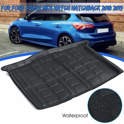 Cargo Tray Trunk Boot Liner Carpet Cover Mat For Ford Focus hatchback 2012-2017