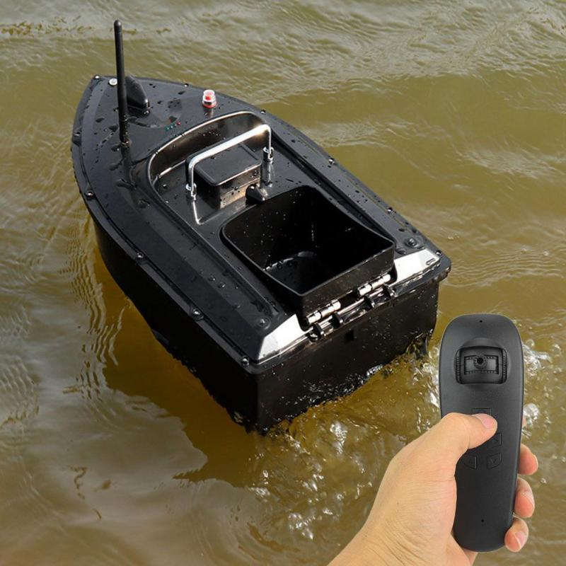 DYWLQ Fishing Bait Boat RC Boat 300m Automatic navigation Return 1kg Loading Fish Finder with Double Motor Fishing boat accessories fishing gifts for men