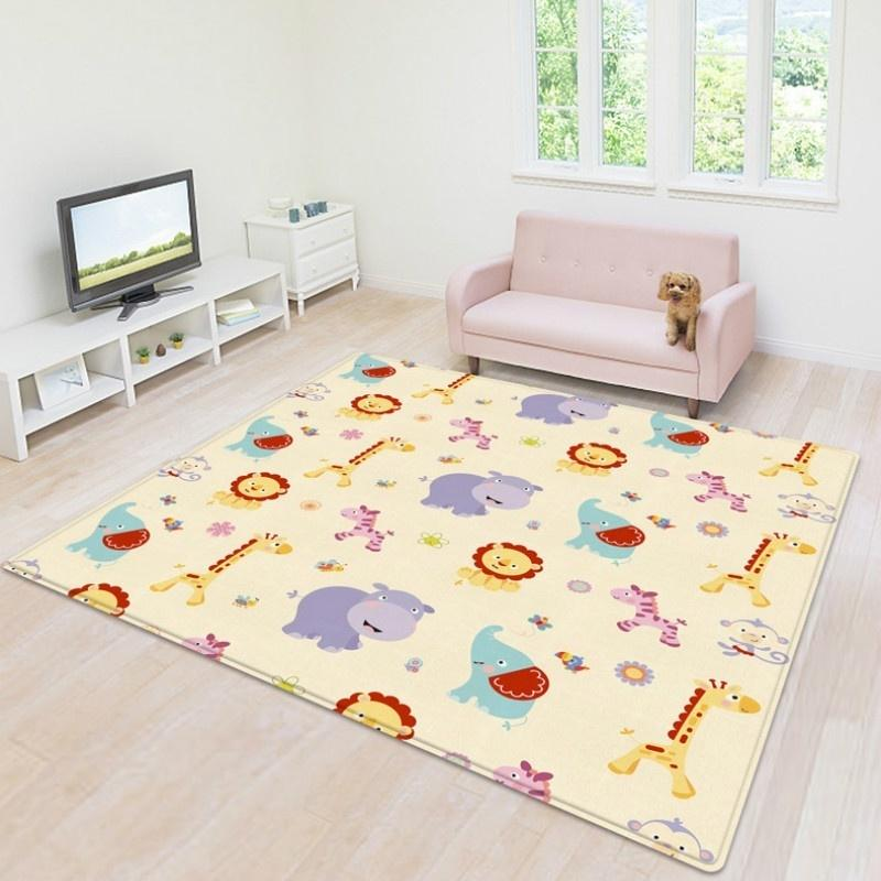 Baby Crawl Play Camping Picnic Letter Alphabet Floor Rug Mat Carpet 180x200CM*
