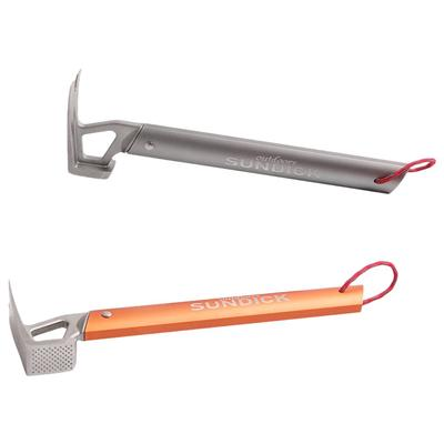 Camping Hammer Stakes Extractor Ground Nails Pins Remover High Strength