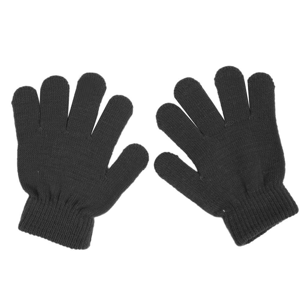 Mitones de punto de invierno lindo bebé niños niñas guantes Color ...
