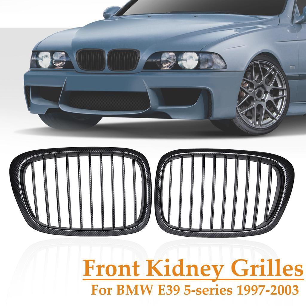1997-2003 BMW 525 528 530 540 E39 Rear Bumper Bracket Left /& Right Set of 2