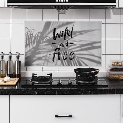 1PC étanche anti-huile tache lecythus Autocollant Mural Carrelage Autocollant Cuisine Fournitures