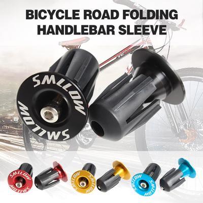 Aluminum Bike Bar End Plugs Road Bicycle Grip Handlebar Caps Accessory POWER