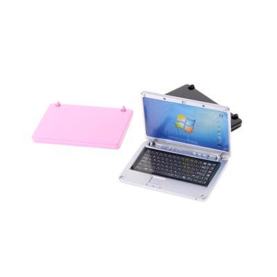 1//12 Dollhouse Miniature Dollhouse Accessories Mini Laptop Home Decor 3 ColouBP