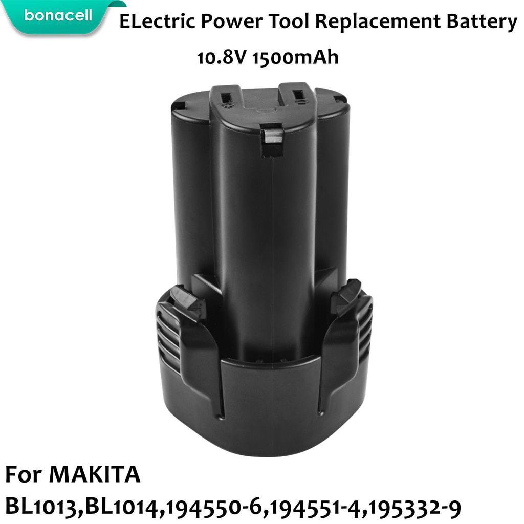 Li-ion 10.8V 1500mAh Batterie type MAKITA BL1013